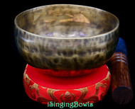 New Tibetan Singing Bowl #10096