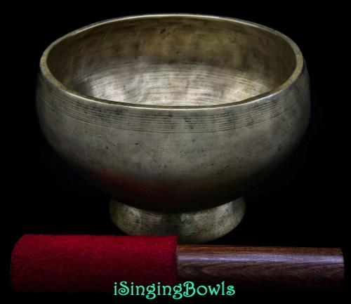 Antique Tibetan Singing Bowl #9788