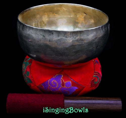 Antique Tibetan Singing Bowl #9986
