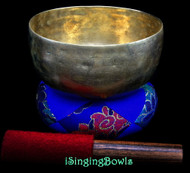 "Antique Tibetan Singing Bowl #9991 : Thado 6 1/2"", ca. 18th Century, E3 & A5."