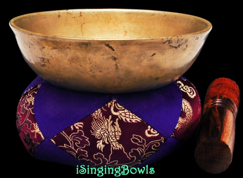 Antique Tibetan Singing Bowl #9769
