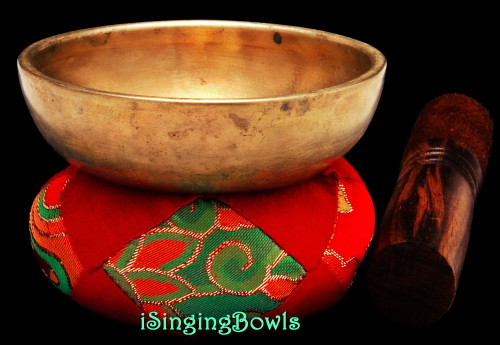 Antique Tibetan Singing Bowl #9770