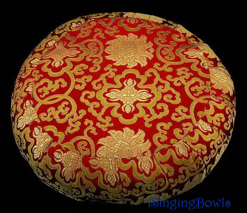 Zafu Meditation Cushion:  Tibetan Red