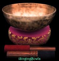 New Tibetan Singing Bowl #10355