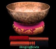 Tibetan Singing Bowl #10326