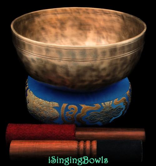 New Tibetan Singing Bowl #10376
