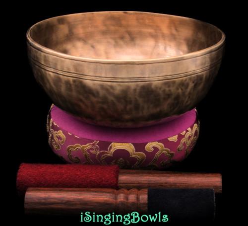 Tibetan Singing Bowl #10378
