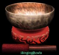 Tibetan Singing Bowl #10334
