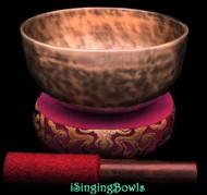 Tibetan Singing Bowl #10348