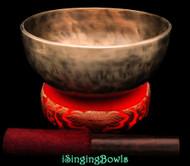 Tibetan Singing Bowl #10398