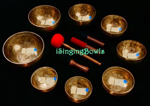 Tibetan Singing Bowl Set #149