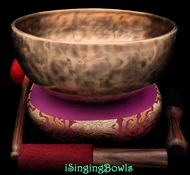Tibetan Singing Bowl #10457