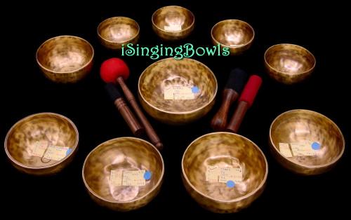Singing Bowl Set #141: Alexandre Tannous Method