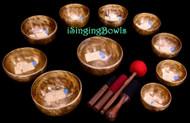 Singing Bowl Set #142:  Alexandre Tannous Method