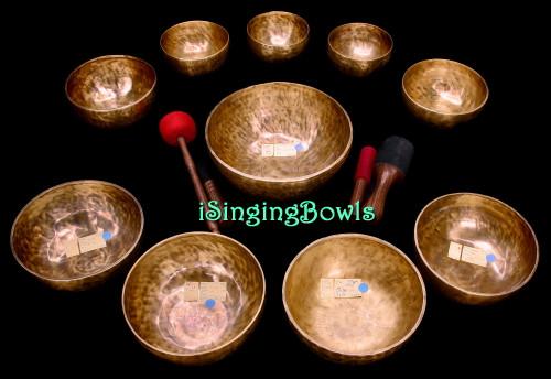 Singing Bowl Set #138: Alexandre Tannous Method