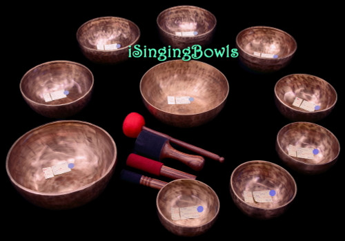 Singing Bowl Set #139: Alexandre Tannous Method