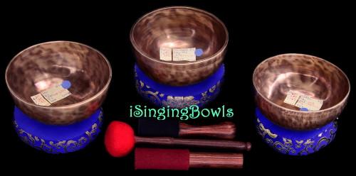 Tibetan Singing Bowl Set #189