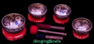 Tibetan Singing Bowl Set #195