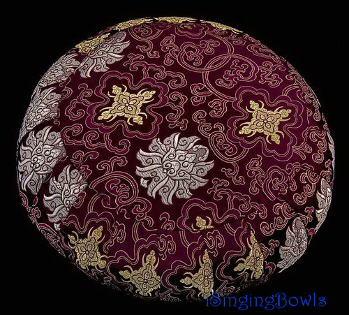 Zafu Meditation Cushion: Plum