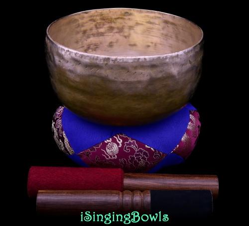 Antique Tibetan Singing Bowl #10529