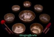 Singing Bowl Set #199: Alexandre Tannous Method