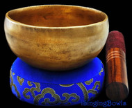 "Tibetan Meditation SINGING BOWL #1: Harmonically-balanced, 4 1/4""."
