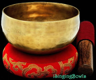 "Tibetan Meditation SINGING BOWL #3: Harmonically-balanced, 4 7/8 - 5 1/4""."