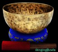 "New Tibetan Singing Bowl #7979 : Thadobati 7 3/4"",  F3 & B5."