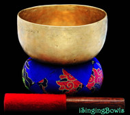 "Antique Tibetan Singing Bowl #8017a : Thado 6 3/8"", circa 18th Century, A#3 & E5."