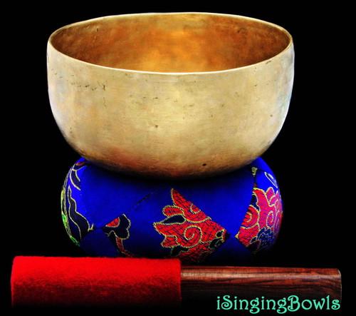 Antique Tibetan Singing Bowl #8017a