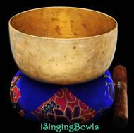 "Antique Tibetan Singing Bowl #8338 :  Cup 5 7/8"", circa 18th Century, F#3 & B5."