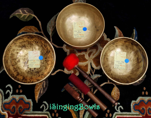 Tibetan Singing Bowl Set #42