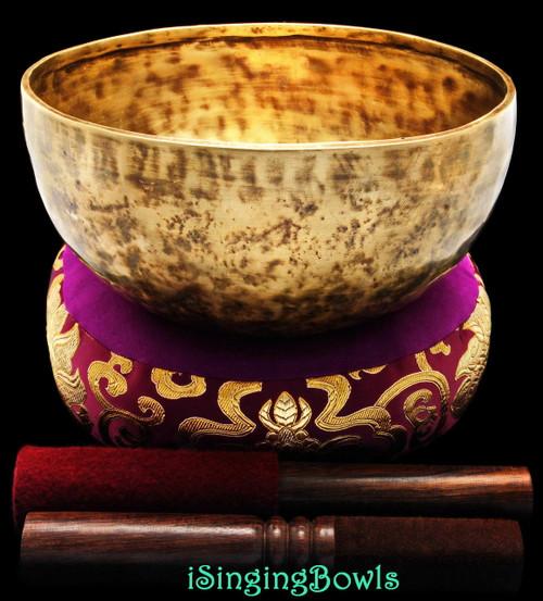 how to play tibetan singing bowl