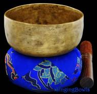 "Antique Tibetan Singing Bowl #8281 :  Cup 5 3/4"", circa 19th Century, D4 & G5."