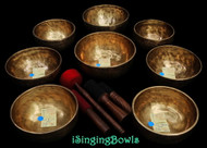 Tibetan Singing Bowl Set #57