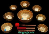 Tibetan Singing Bowl Set #59