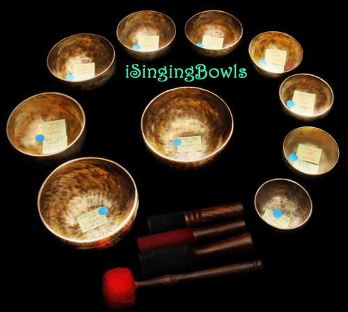Alexandre Tannous Method Singing Bowl Set #60b