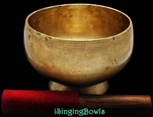 Antique Tibetan Singing Bowl #8548