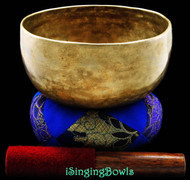 "Antique Tibetan Singing Bowl #7683 : Thado 7"", circa 17th Century, F#3 & C5."