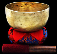 "Antique Tibetan Singing Bowl #7714 : Thado 6 7/8"", circa 18th century, A3 & D#5."
