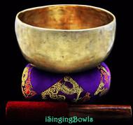 "Antique Tibetan Singing Bowl #7783 : Thado 6 5/8"", circa 18th century, A#3 & F5."