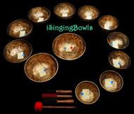 Tibetan Singing Bowl Set #37: Chromatic (12 pc.)