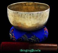 "Antique Tibetan Singing Bowl #7837 : Thado 6 3/8"", ca. 18th Century, G#3 & D5."