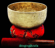 "Antique Tibetan Singing Bowl #7785 : Thado 6 3/8"", ca. 18th Century, G3 & C#5."