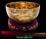 "New Tibetan Singing Bowl #8386 : Thadobati 6 3/8"", Contemporary, A3 & D#5."