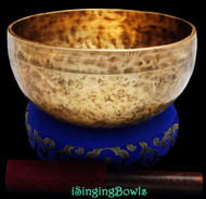 "New Tibetan Singing Bowl #8439 : Thadobati 7 3/4"",  F3 & C5."