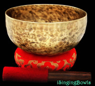 "New Tibetan Singing Bowl #7969b : Thadobati 7 7/8"", Contemporary, D#3 & A4."