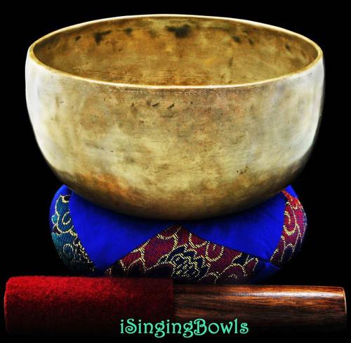 Antique Tibetan Singing Bowl #7763