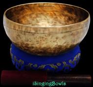 """New Tibetan Singing Bowl #8682 : Thado 7 7/8"""", E3 & B4."""