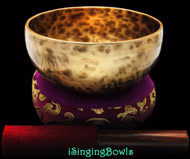 "New Tibetan Singing Bowl #8397 : Thadobati 6 1/4"",  D4 & A5."